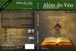 ESTOJO 1 - VERDE (Lições 1-8, em 4 DVDs)